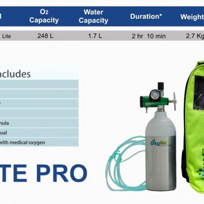 RespBuy-OxyGo-LitePro-Oxygen-Cylinder-Specifications